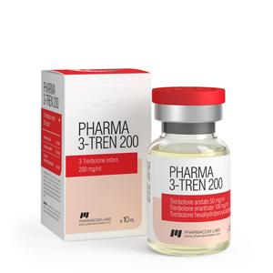 Ostaa Trenbolonisekoitus (Tri Tren): Pharma 3 Tren 200 Hinta
