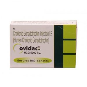 Ostaa HCG: Ovidac 5000 IU Hinta