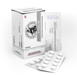 Ostaa Klenbuterolihydrokloridi (Clen): Magnum Clen-40 Hinta