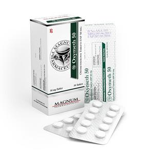 Ostaa Oksymetolon (Anadrol): Magnum Oxymeth 50 Hinta