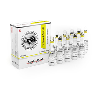 Ostaa Stanozolol-injeksjon (Winstrol-depot): Magnum Stanol-AQ 100 Hinta