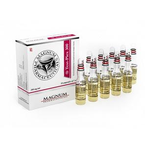 Ostaa Sustanon 250 (Testosteronblanding): Magnum Test-Plex 300 Hinta