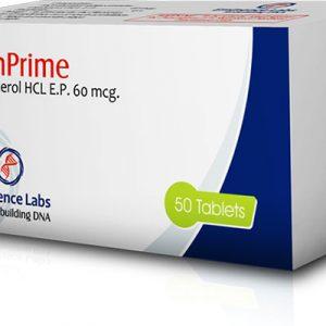Ostaa Klenbuterolihydrokloridi (Clen): Klenprime 60 Hinta