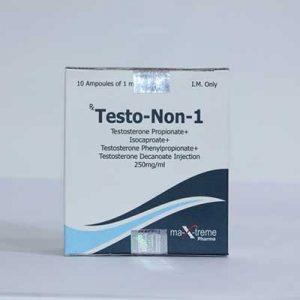 Ostaa Sustanon 250 (Testosteronblanding): Testo-Non-1 Hinta