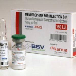 Ostaa Ihmisen kasvuhormoni (HGH): HMG 150IU (Humog 150) Hinta