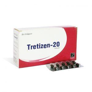 Ostaa Isotretinoiini (Accutane): Tretizen 20 Hinta