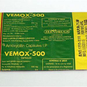 Ostaa amoksisilliini: Vemox 500 Hinta