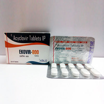 Ostaa Asykloviiri (Zovirax): Ekovir Hinta