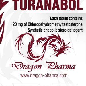 Ostaa Turinabol (4-klooridehydrometyylitosterosteroni): Turanabol Hinta